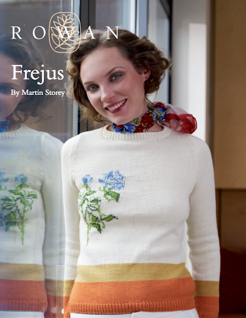 The Vintage Pattern Files Free 1950's Knitting Pattern 1950's Style Frejus Knitted Sweater