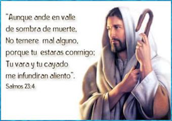 imagen de Jesús con pasajes bíblicas