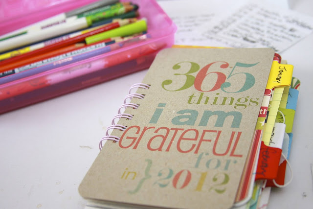 2012 Gratitude Journal | iloveitallwithmonikawright.com