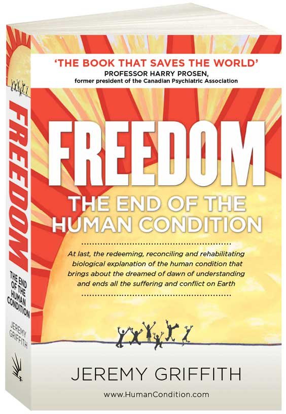 FREEDOM - The end of human condition.