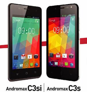 Smartfren Andromax C3s & C3si Dengan Flash di Kamera Depan Khusus Foto Selfie