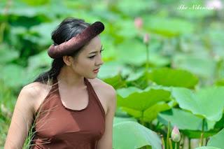 Thai nha van lo nhu hoa 003 Trọn bộ ảnh Thái Nhã Vân lộ nhũ hoa cực đẹp