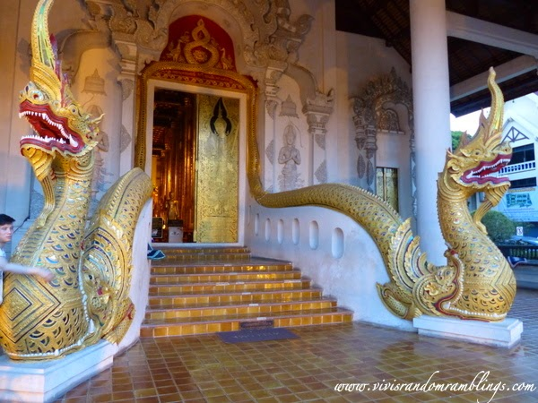 the assembly hall, Wat Chedi Luang (Temple of the Big Stupa), Chiang Mai
