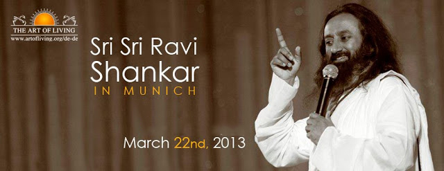 Sri Sri Ravi Shankar in Munich: March 2013