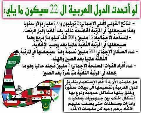 الولايات العربية المتحدة.. قادمة ...!.... قادمة
