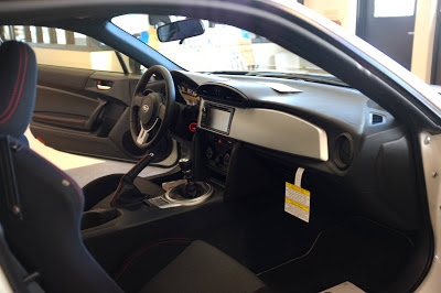 Subaru BRZ Interior Seats