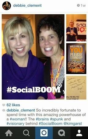 SocialBoom WonderHostess, Kim Garst and the Star Struck Debbie Clement