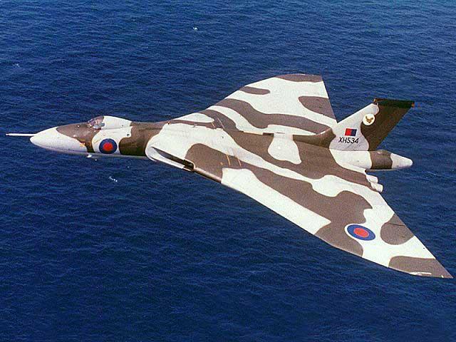 Avro Vulcan British Subsonic Bomber