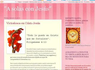 A solas con Jesus