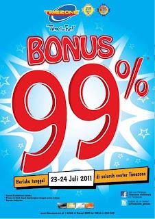 bonus 99% timezone