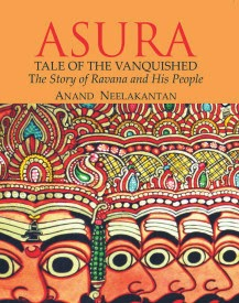 Cover of the novel Asura by Anand Neelakantan. Shows the picture of 10 headed Ravan.