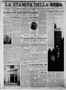 LA STAMPA 27 OTTOBRE 1934