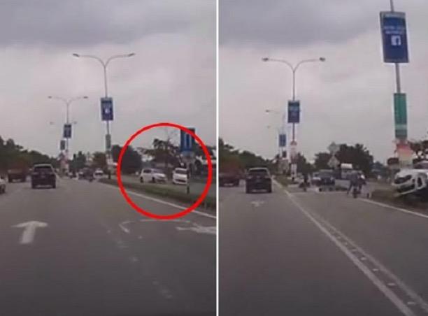 Pemandu tak berhenti berzikir sebelum dirempuh