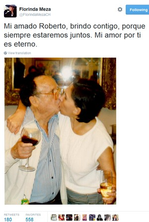 Dona Florinda Homenageia Roberto Bolaños no twitter