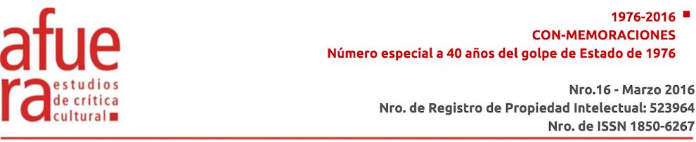 Revista Afuera Nro. 16