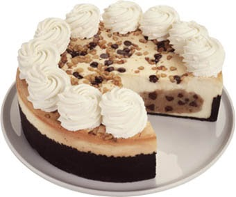 Choc chip cookie dough cheesecake recipe