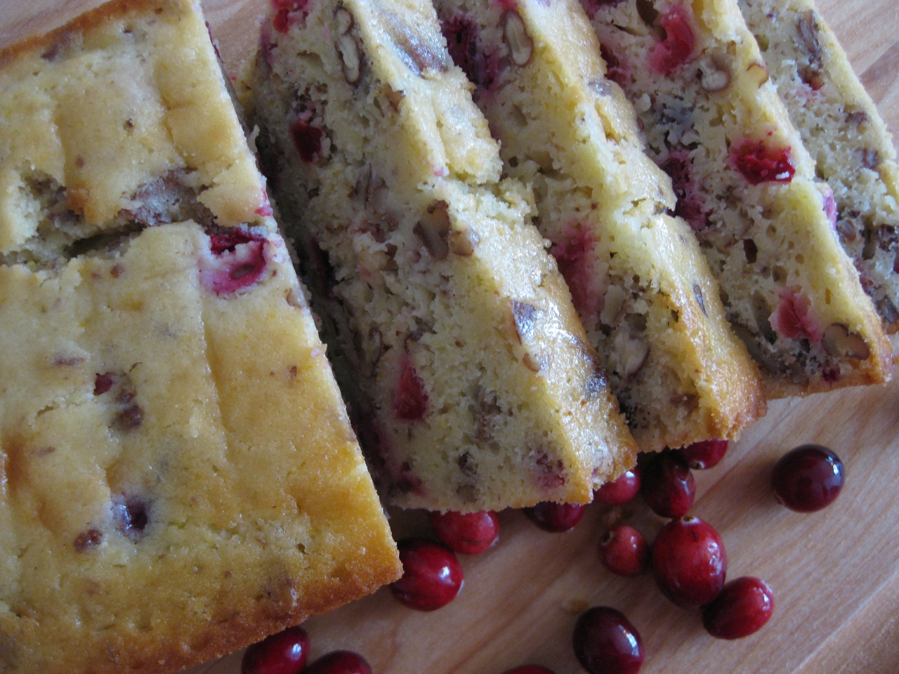 Cranberry-Orange Pecan Bread Recipe — Dishmaps