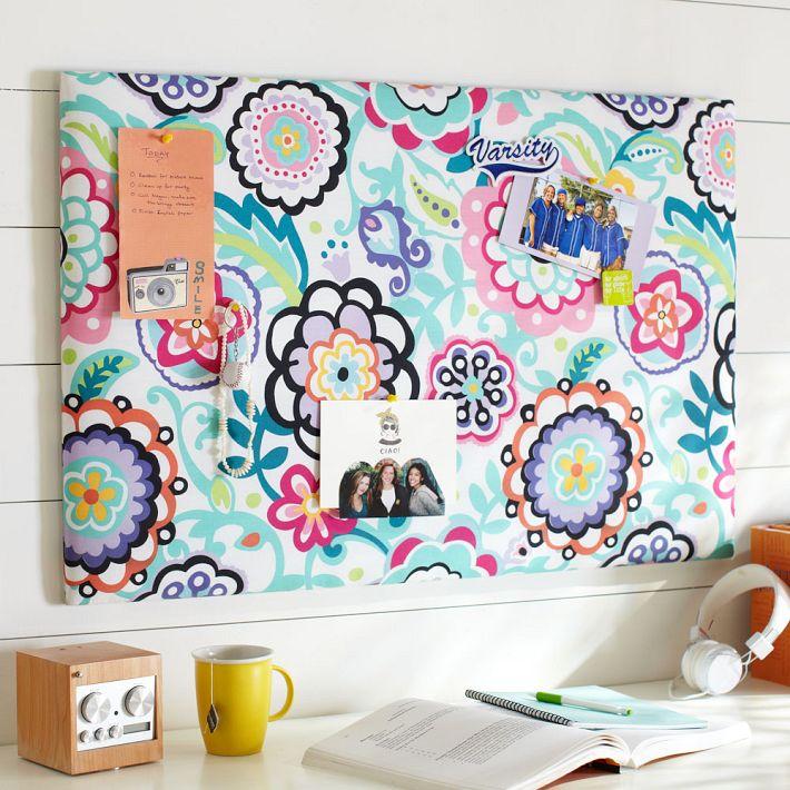 Tu organizas quarto de garota for Como fazer um mural de recados