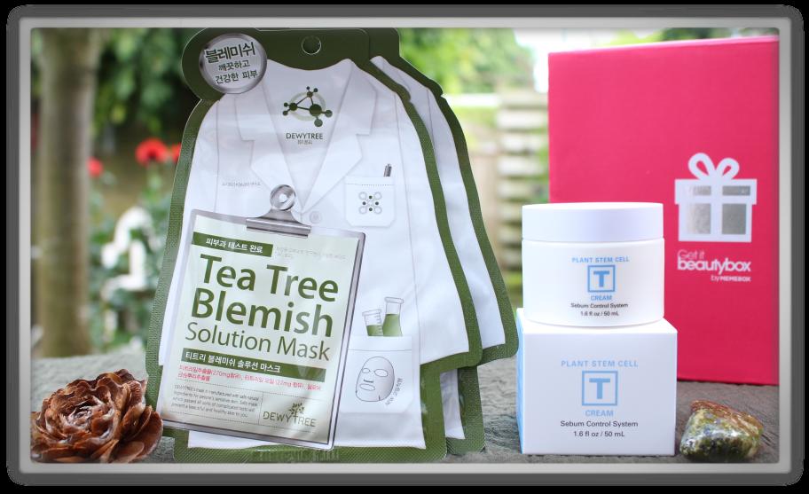 겟잇뷰티박스 by 미미박스 memebox from nature beautybox # unboxing review preview box unboxing Sn - t goddes cream