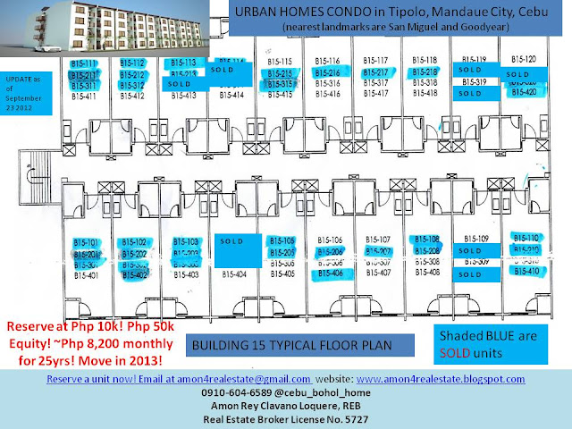 For sale affordable condo in mandaue city php 50k equity for Building a house for less than 50k