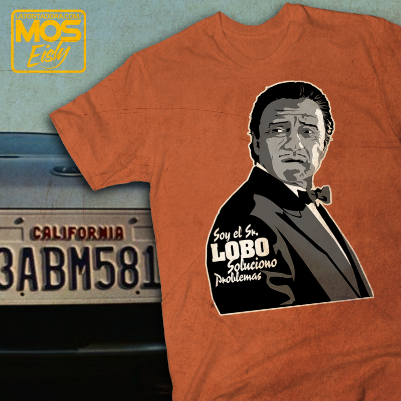 camiseta señor lobo pulp fiction