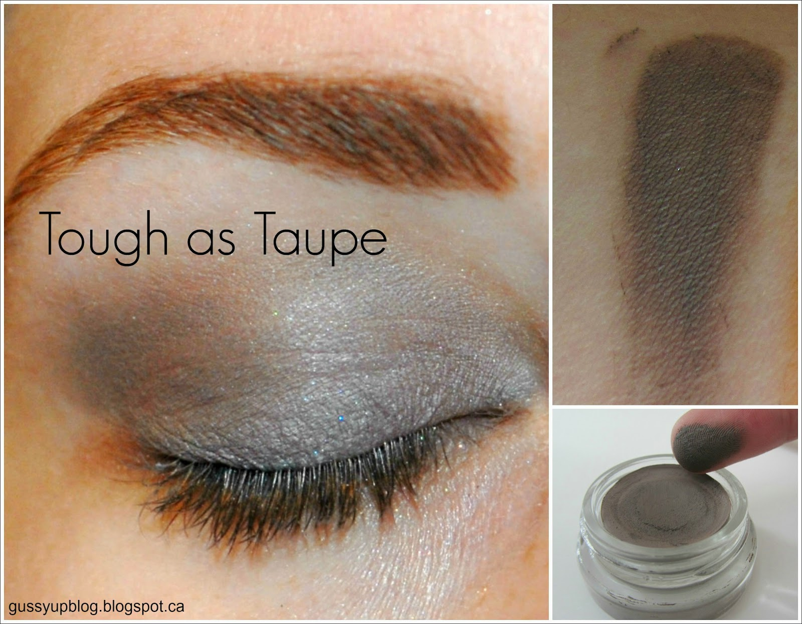 Maybelline Color Tattoo 24 Hour Eyeshadow, Tough as Taupe, Review and Swatches