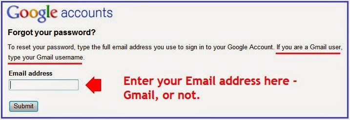 i forgot my gmail id and password