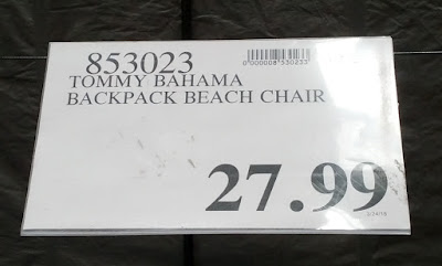Deal for the Tommy Bahama Backpack Beach Chair at Costco