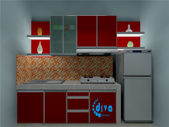 kitchen set sederhana images