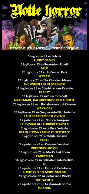 Notte Horror 2016