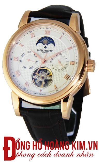 Đồng hồ nam dây da cao cấp giá rẻ 2015-2016