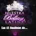 """Las 12 finalistas de """"Nuestra Belleza Latina 2012"""""""