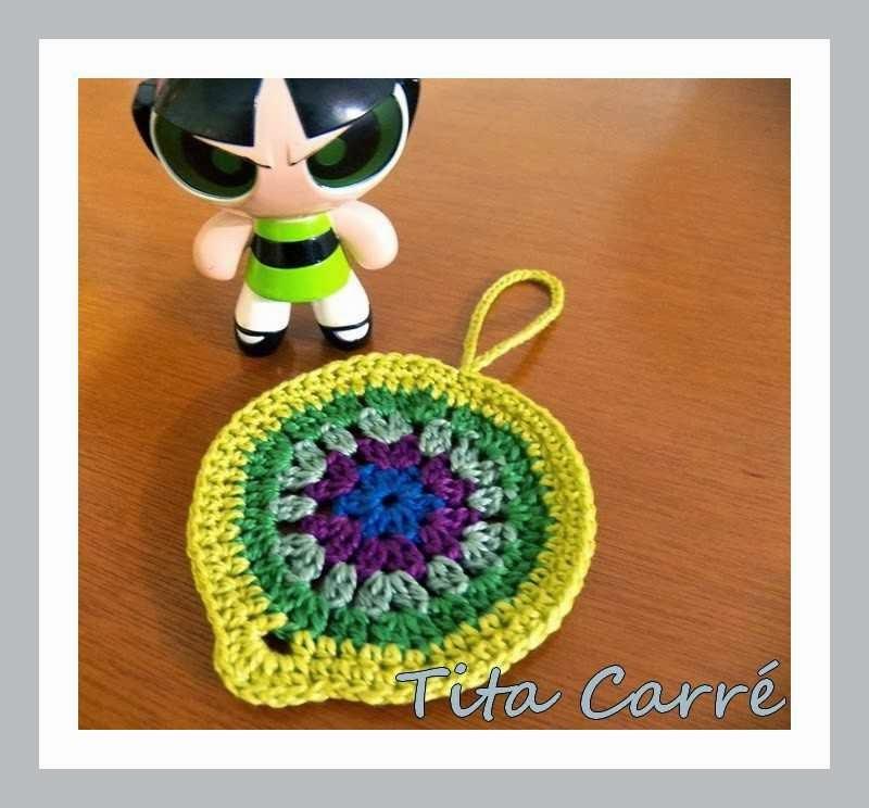 Mandala Power em crochet