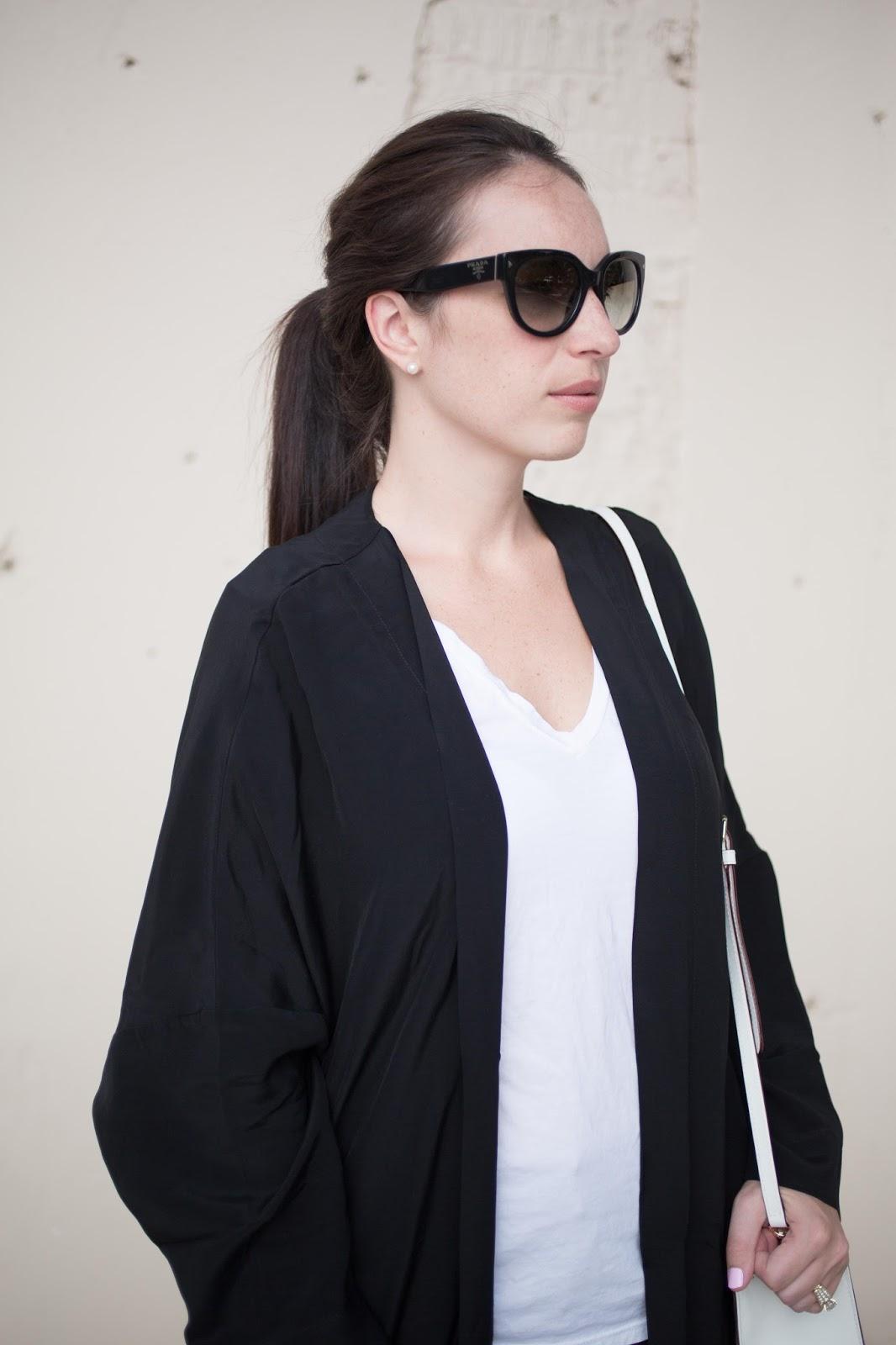 duster coat prada cateye sunglasses duster coat womenswear style fashion