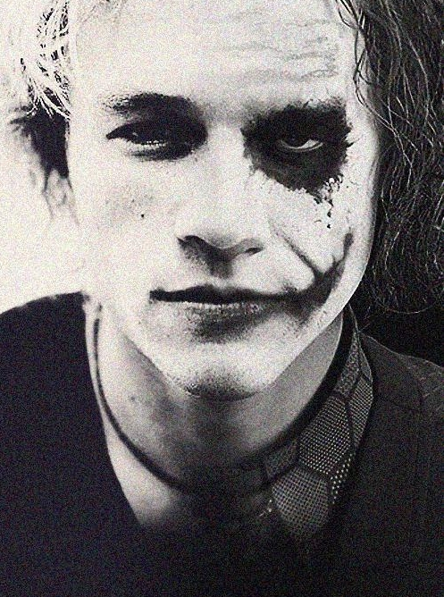 Heath Ledger and The Joker