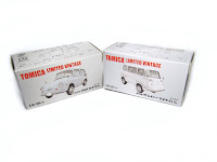 Tomica Limited Vintage LV-26b Subaru 360 Custom  LV-27a Sambar Light Van