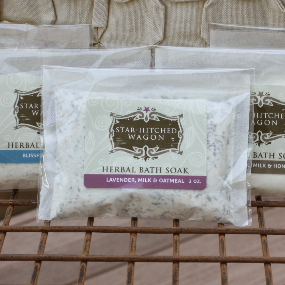 all natural herbal bath soaks from Star Hitched Wagon