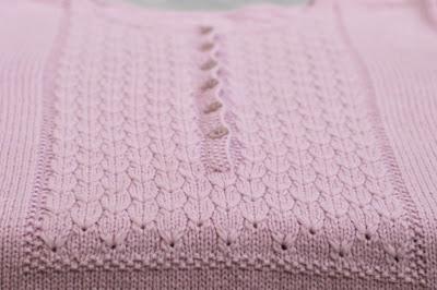 Узоры спицами с вышивкой
