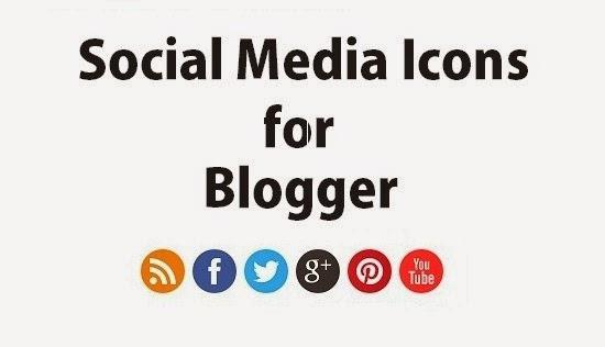 Προσθήκη Social Media Icons στον Blogger
