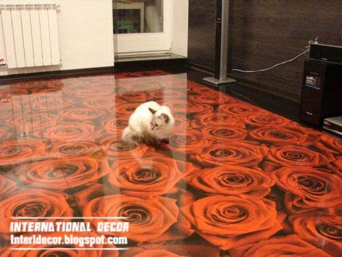 3d floor murals and 3d self leveling floors unusual floor