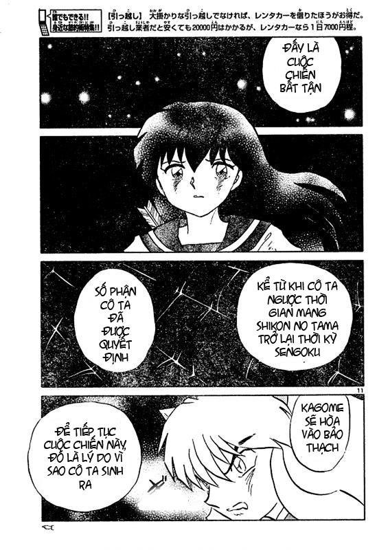 Inuyasha-Khuyển Dạ Xoa-Bản Đẹp chap 523 Trang 11