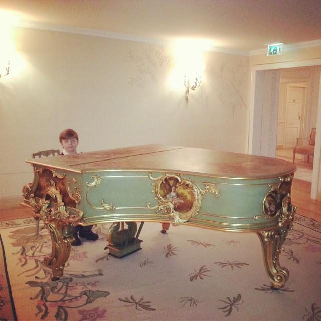 Grand piano Tivoli Palacio de Seteais hotel