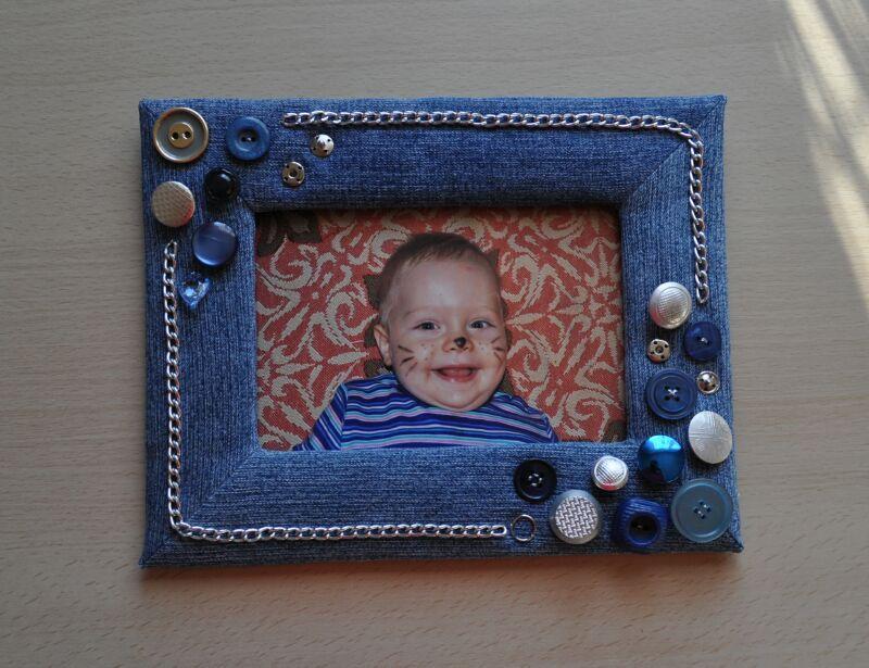 Фоторамки из подручных материалов для детей