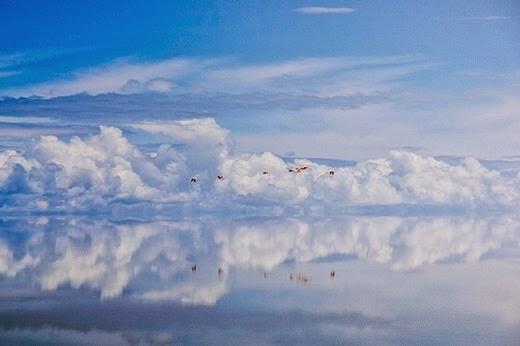 Salar De Uyuni in the Potosí and Oruro departments of southwest Bolivia