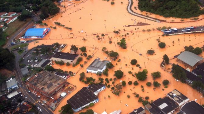 The irony of El-Niño: After two years of severe drought torrential rains kill 19 in Sao Paulo...