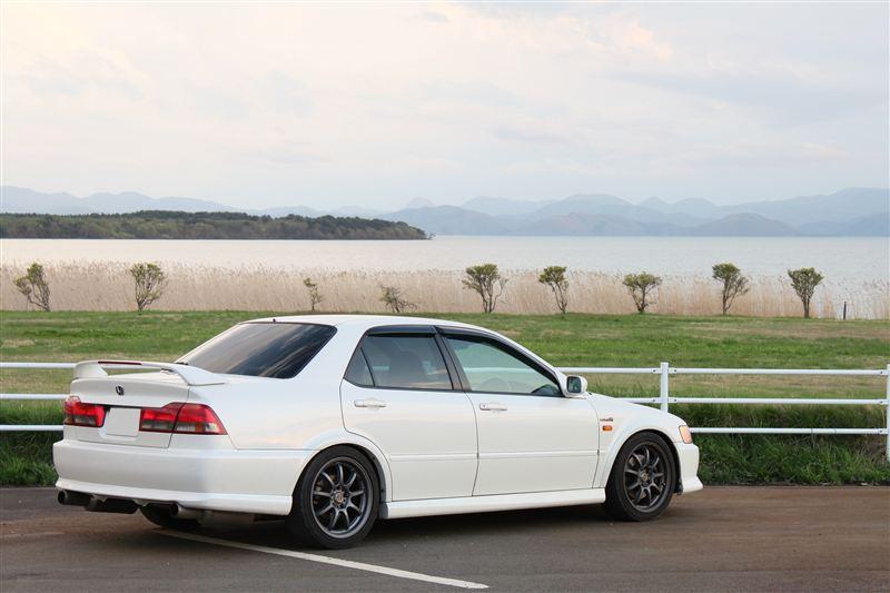 Honda Toreno, sedan, na rynek Japonii, JDM, biały, tuning, fotki, VTEC is kicking in, usportowiony