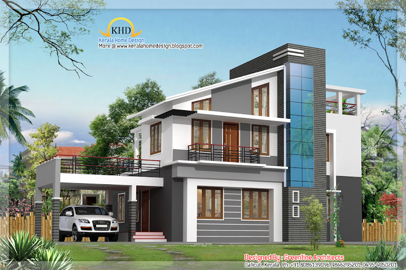 Modern house design - 179 Square Meter (1925 Sq. Ft) - December 2011 title=