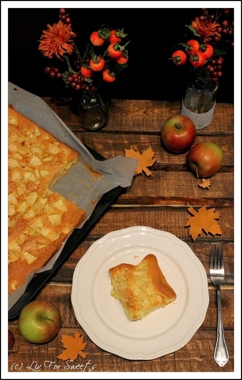 Apfelkuchen vom Belch, Rezept, Thermomix, Zimt und Zucker