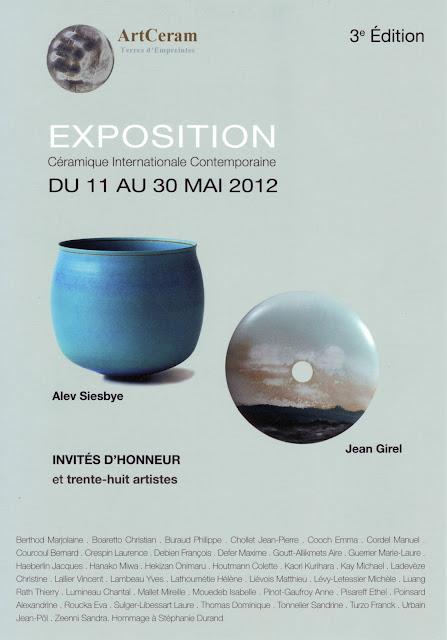 Exposition Internationale de Céramique Contemporaine