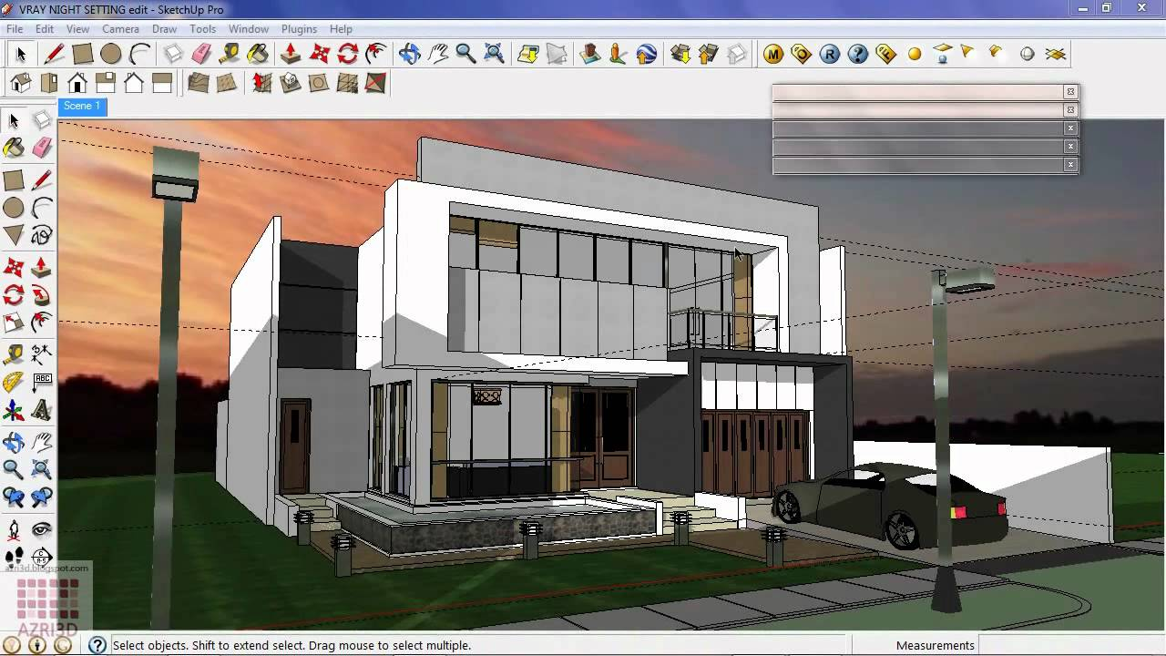 Image Gallery Sketchup 8 Buildings